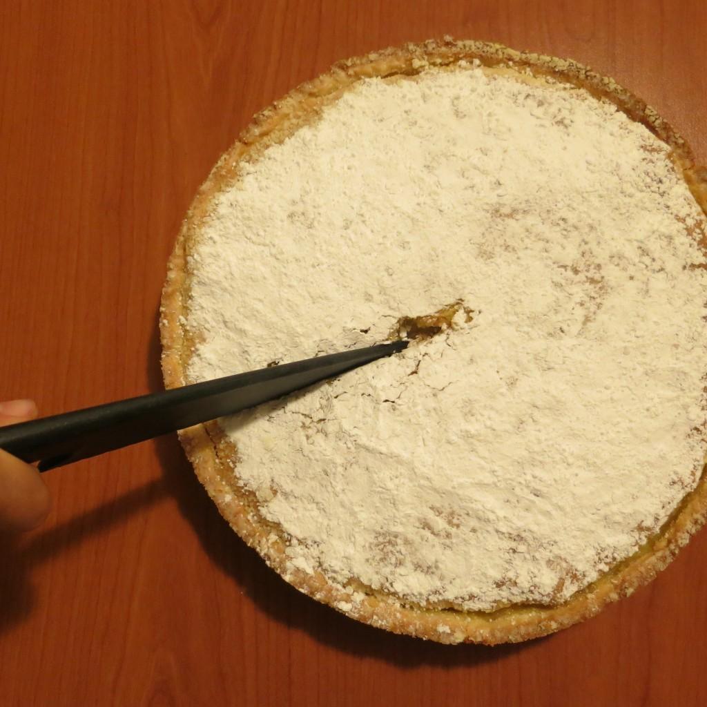 Préparation gâteau aux goyaviers