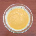 Crème de mangue à la menthe fraîche