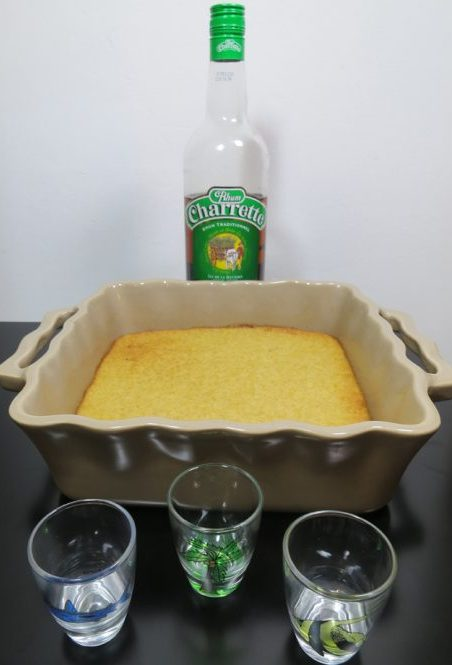 Dégustation gâteau de chouchou