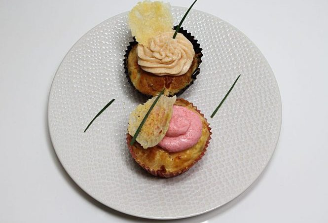 Cupcakes au saumon