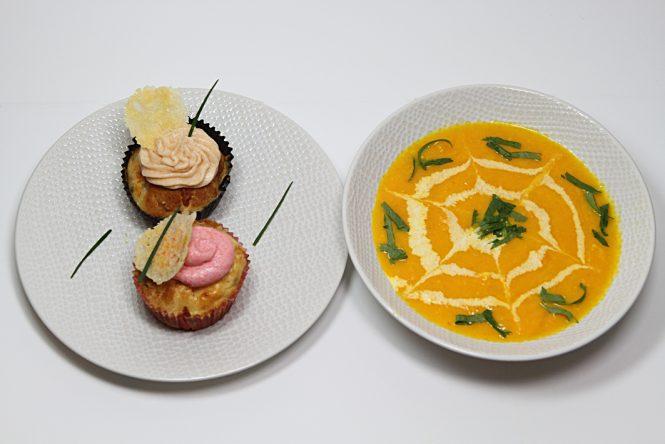 Dégustation des cupcakes au saumon
