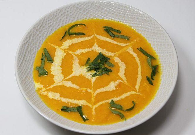 Soupe de carottes et gingembre